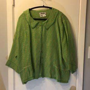 Flax 100% linen blouse
